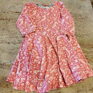 Mini Boden Mermaid Twirl Dress 2-3